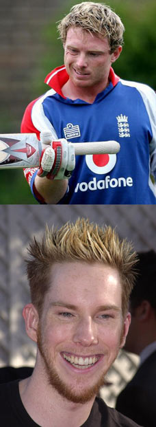 Top: The Shermanator, Bottom: Ian Bell