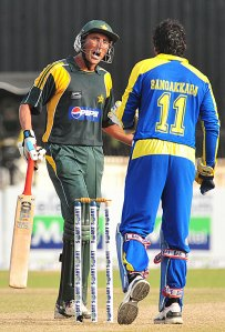 """Younis: A wealthy Pakistani wants to purchase the Pak cricket team and show them around the world as a travelling circus. Sangakkara:But the players are tall, big built, with even bigger egos, """"Space is a problem, how will they ever fit?"""""""